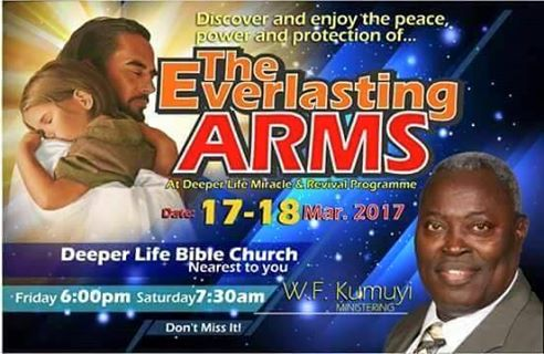 Deeper Christian Life Ministry October Revival Programme