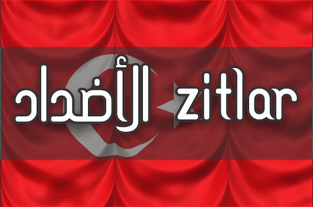 الأضداد في اللغة التركية | ZITLAR