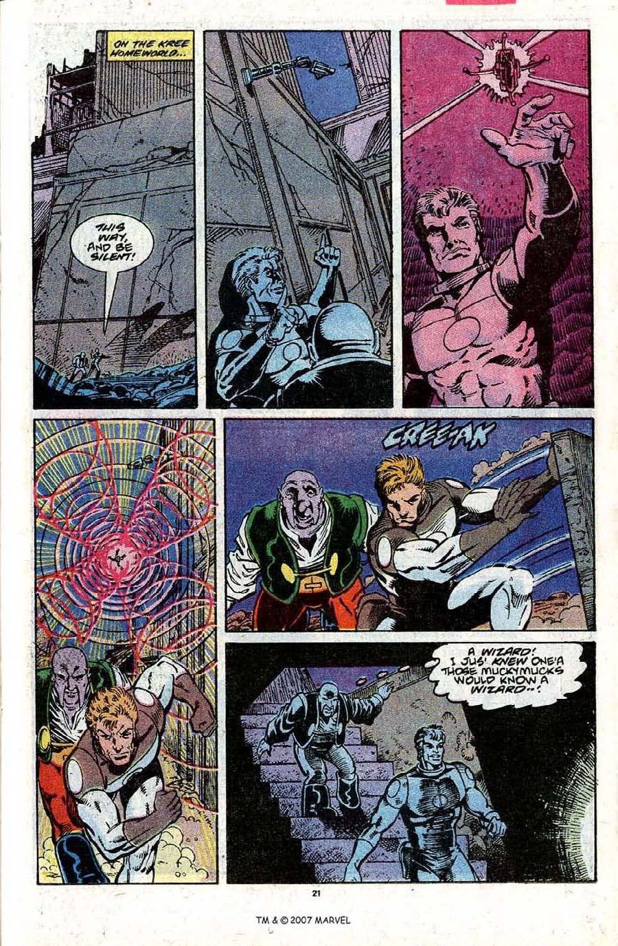 Read online Silver Surfer (1987) comic -  Issue #31 - 23