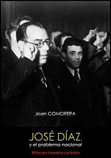 José Díaz y el problema nacional; Joan Comorera, 1942