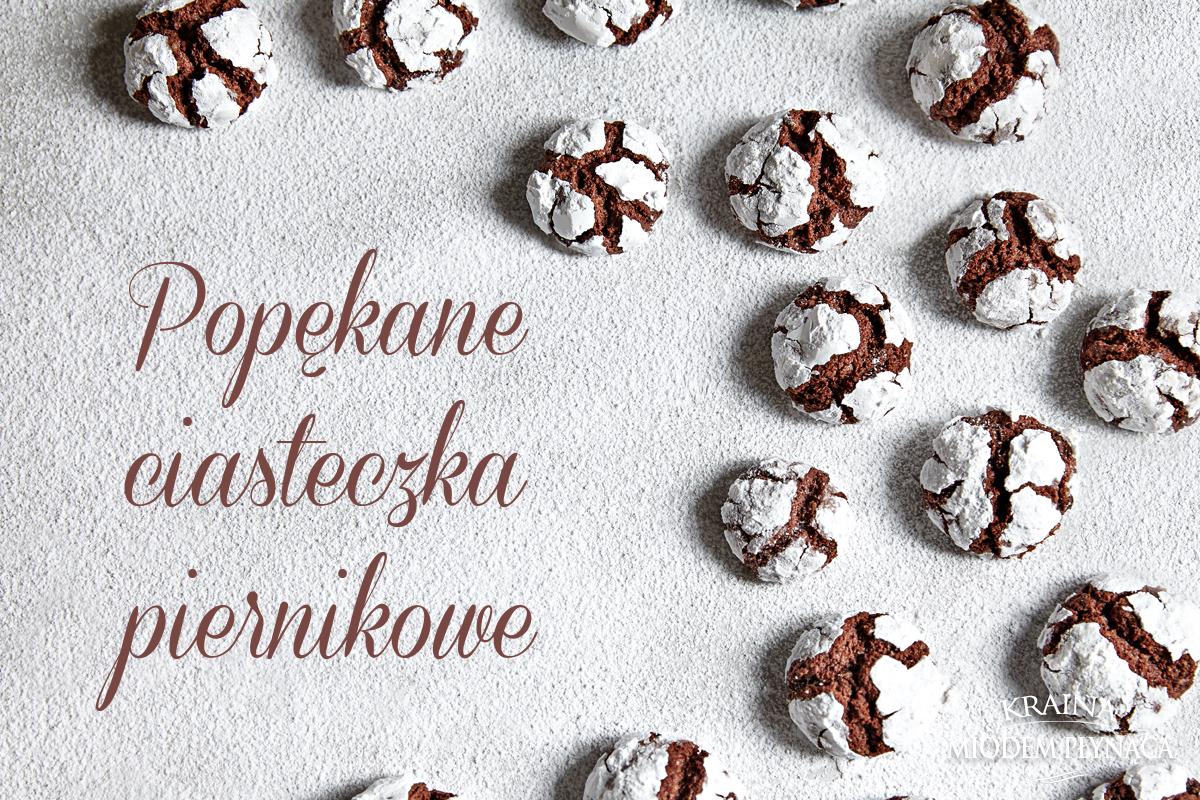 popękane ciasteczka, ciasteczka czekoladowe, pierniczki świąteczne, ciasteczka pierniki, wypieki na boże narodzenie, kraina miodem płynąca