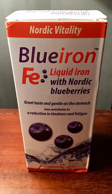 Blueiron liquid iron and vitamin food supplement