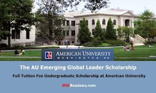 beasiswa s1 amerika full tuition fee american university