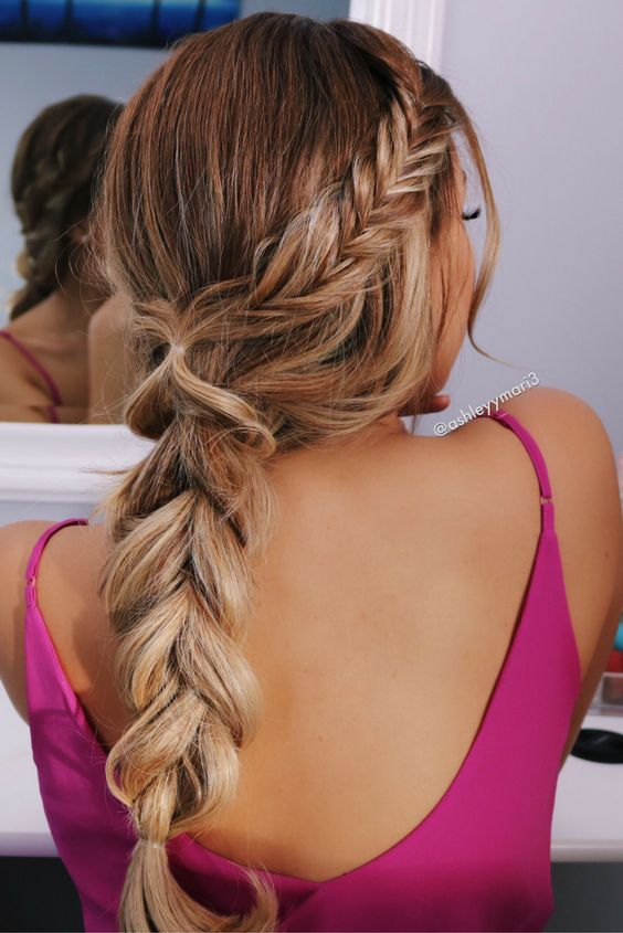 trendy braid hairstyle idea that to try this summer