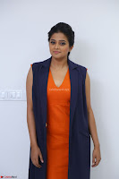 Priyamani in Beautiful Short Deep neck Orange Dress ~  Exclusive 29.JPG