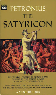 Book cover for Petronius's The Satyricon in the South Manchester, Chorlton, and Didsbury book group