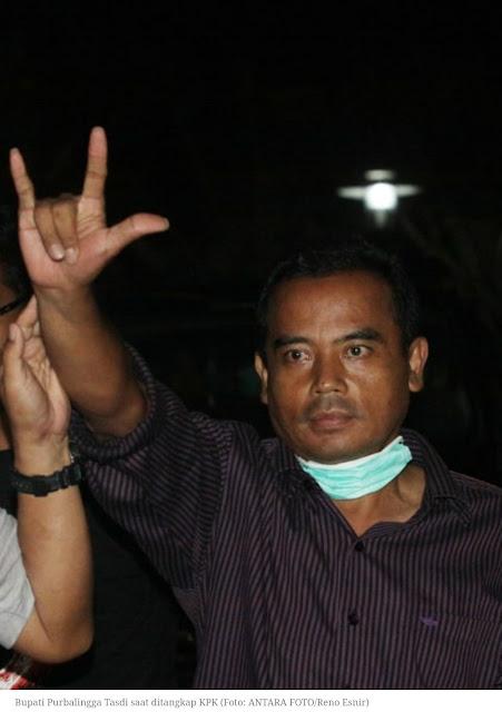 Bupati Purbalingga, Kader PDIP, Akui Terima Suap Untuk Partai