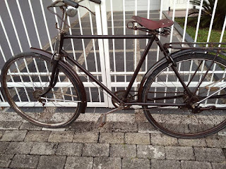 Dijual Sepeda Antik Polisi Jaman Jebot - NGAWI