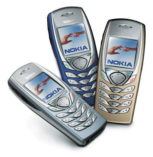 Các màu sắc Nokia 6100