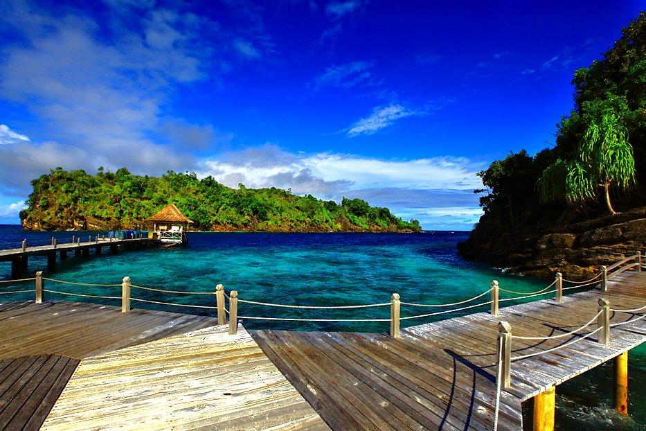 gambar pemandangan alam indonesia indah