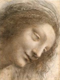Vinci Dessin Vierge Marie
