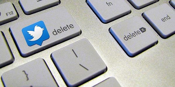 Cómo eliminar tweets antiguos masivamente