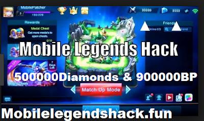 Mobilelegendshack.fun || Hack Mobile legends 500000Diamonds & 900000BP  [Work 100%]