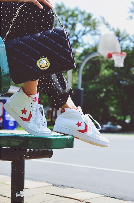 Converse and Kate Spade
