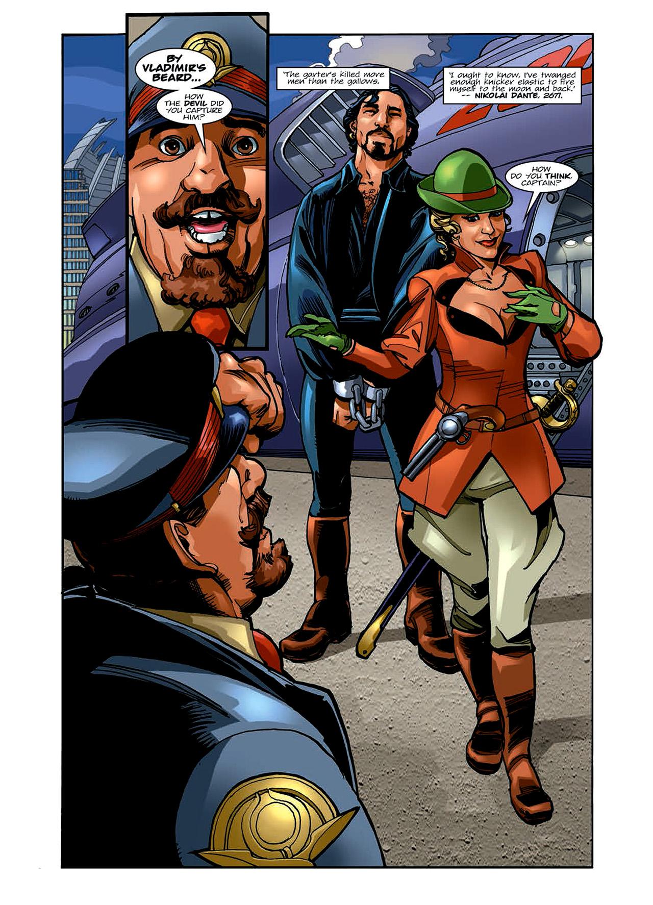Read online Nikolai Dante comic -  Issue # TPB 6 - 32