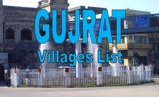 gujrat-pakistan-villages-list