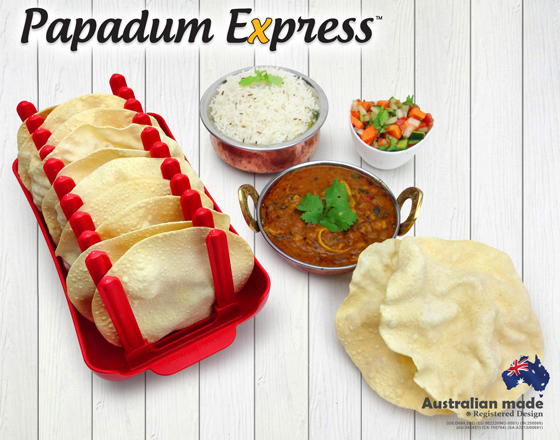 Cook 10 papadums or papads in the microwave fast in minutes march your guilt free papadums forever forumfinder Image collections