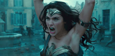 Image of Gal Gadot as Diana Prince in Wonder Woman movie