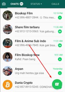 Whatsapp menjadi aplikasi pesan instant dengan tampilan yang sangat sederhana hanya terse Manfaatkan Fitur Arsip Untuk Cara Menyembunyikan Pesan Whatsapp