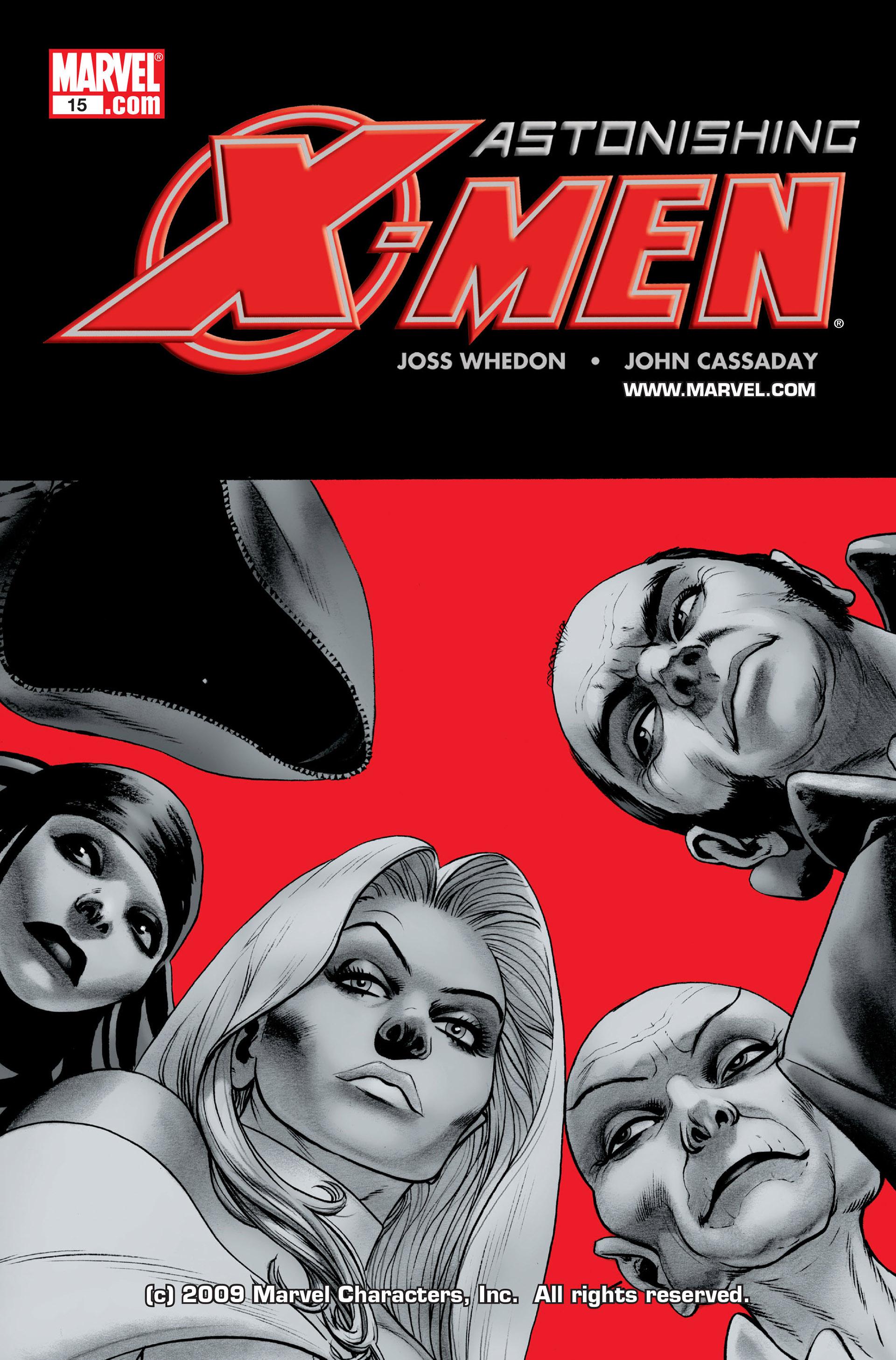 Read online Astonishing X-Men (2004) comic -  Issue #15 - 1