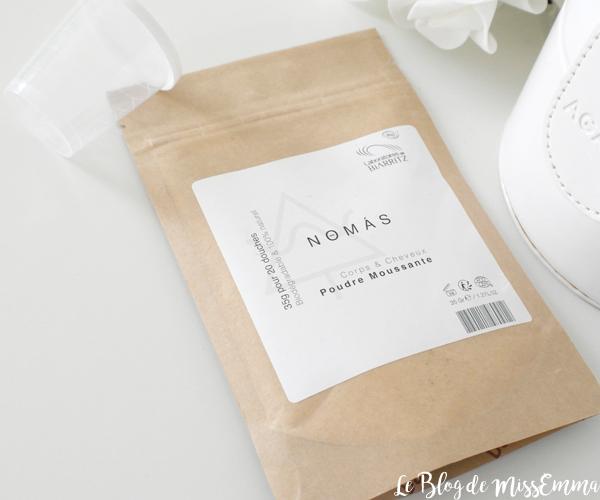 Le Blog de MissEmma • Poudre Moussante Nomas