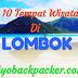 Rencana Liburan Ke Lombok? Inilah 10 Destinasi Wisata Yang Cocok Untuk Backpacker