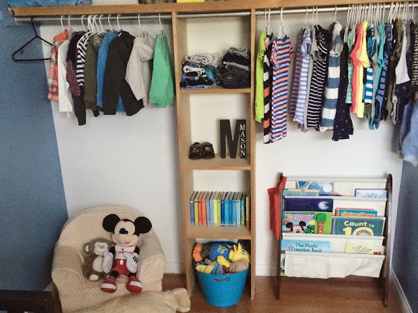From Closet To Reading Nook