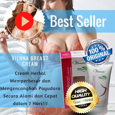 Vienna Breast Cream Payudara Terdaftar BPOM Aman Tanpa Efek Samping Berbahaya