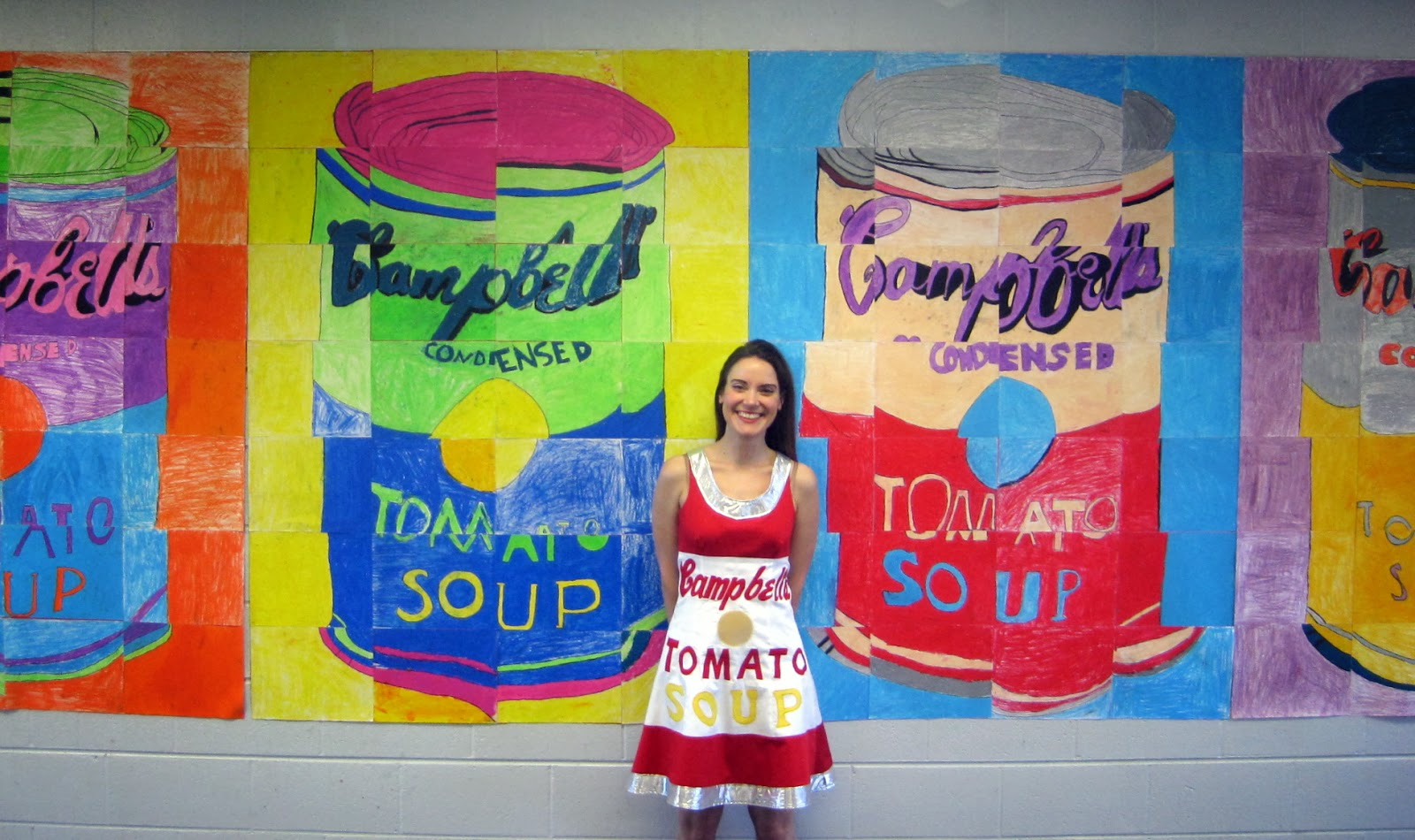 Cassie Stephens Diy Campbell S Soup Dress After Andy Warhol