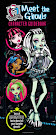 Monster High Meet the Ghouls Character Guidebook Book Item