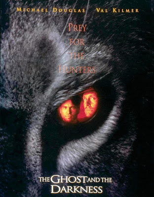 Poster Of The Ghost and the Darkness (1996) In Hindi English Dual Audio 300MB Compressed Small Size Pc Movie Free Download Only At worldfree4u.com