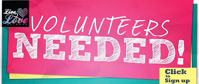 We Need You on Our Team of Volunteers