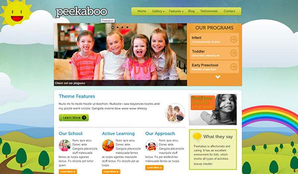pekaboo-for-wordpress-children-theme-template