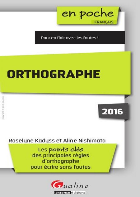 Grande Bibliotheque Telecharger Livre Orthographe 2016 Pdf