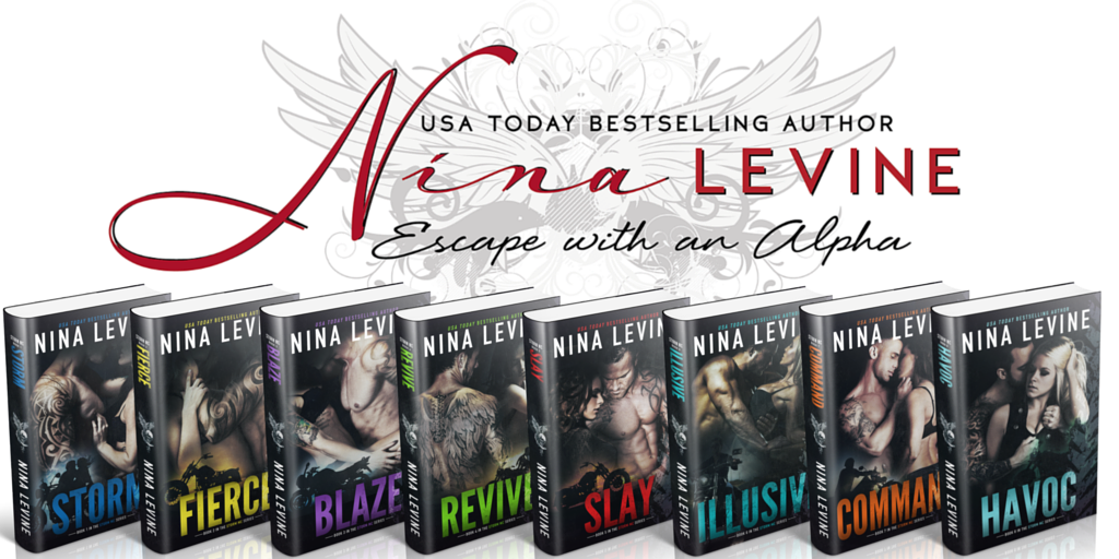Seraphim Book Reviews Promo Blitz Storm Mc Series By Nina Levine