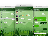 BBM [MOD] Mi-Green Ocean apk | Base Version v3.2.5.12 [Unclone] Terbaru