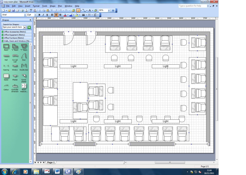 Visio Floor Plan Beautiful Microsoft Visio Floor Plan And: Yip Fix: Visio Room Plan