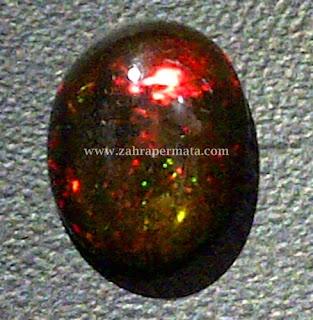 Batu Permata Black Opal Kalimaya - ZP 277
