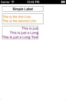 iOS create UILabel programmatically