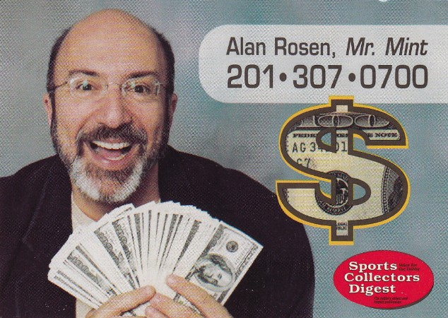 the five tool collector rip alan rosen aka 39 mr mint 39. Black Bedroom Furniture Sets. Home Design Ideas