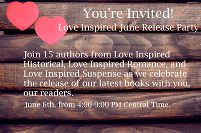 June Love Inspired Facebook Release Party