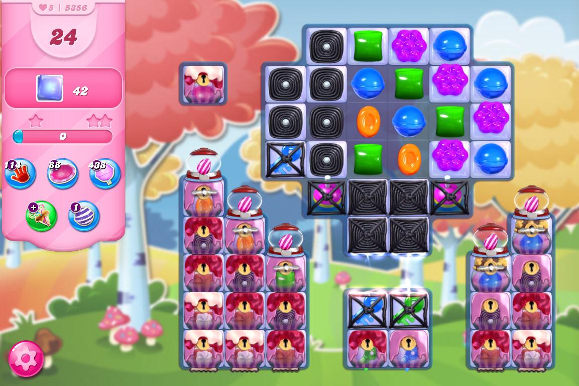 Candy Crush Saga level 5356