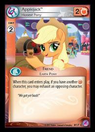 My Little Pony Applejack, Honest Pony Seaquestria and Beyond CCG Card