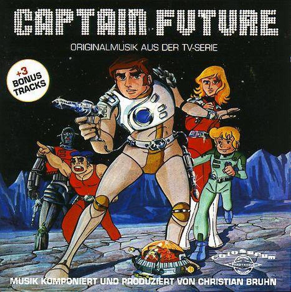 """Weirdward Ho ! Christian Bruhn  """"captain Future"""" Ost"""