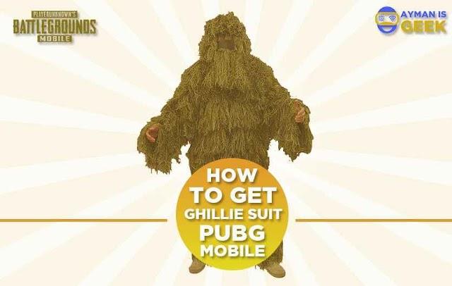 Cara Mendapatkan Baju Rumput atau Ghillie Suit Gratis di PUBG Mobile