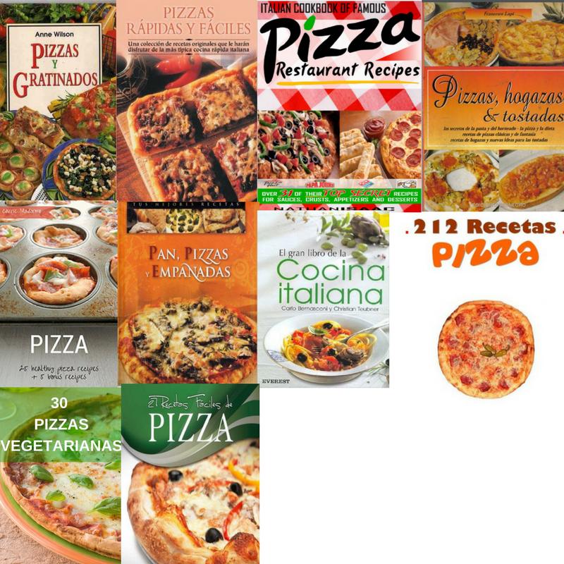 Colección libros de Pizzas ~ A Gusto con tu paladar