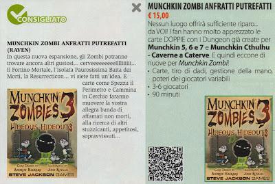 Munchkin Zombi 3 - Anfratti putrefatti (scansione da Anteprima 259)