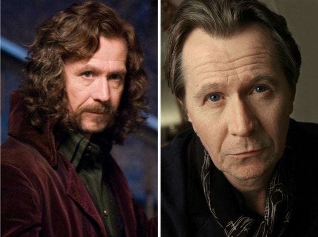 Sirius Black interpretado por Gary Oldman