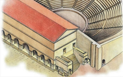 Η τεχνολογία του αρχαίου ελληνικού θεάτρου