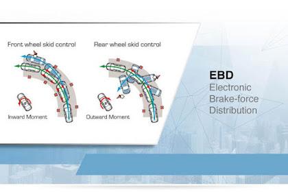 Fungsi Dan Cara Kerja Teknologi EBD Pada Sistem Rem Mobil